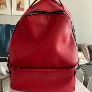 Red Kendall + Kylie Backpack/Purse